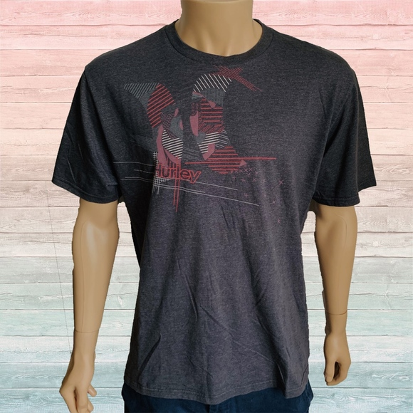 Hurley Other - Hurley Red Splash Graphic Tee Shirt